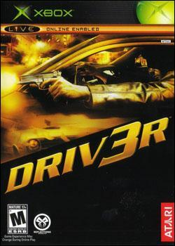Driv3r (Xbox) by Atari Box Art