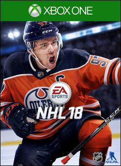 NHL 18 (Xbox One) by Electronic Arts Box Art