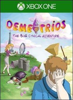 Demetrios: The BIG Cynical Adventure Box art