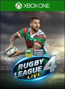 Rugby League Live 4 (Xbox One) by Microsoft Box Art