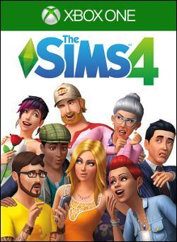 Sims 4, The (Xbox One) by Electronic Arts Box Art