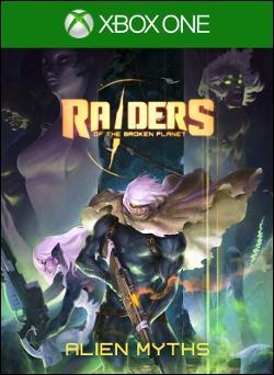 Raiders of the Broken Planet Box art