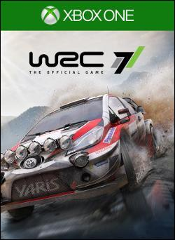 WRC 7 FIA World Rally Championship (Xbox One) by Microsoft Box Art