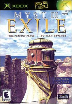 Myst III: Exile (Xbox) by Ubi Soft Entertainment Box Art