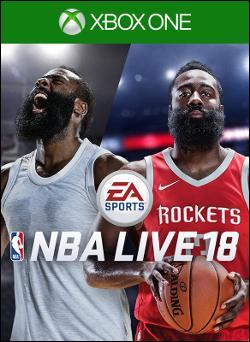 NBA LIVE 18: The One Edition (Xbox One) by Electronic Arts Box Art