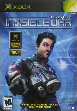 Deus Ex: Invisible War (Xbox) by Eidos Box Art