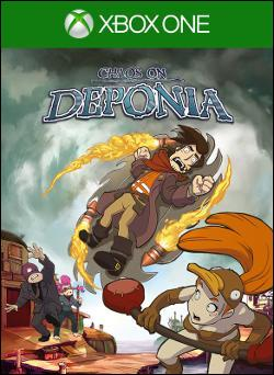 Chaos on Deponia (Xbox One) by Microsoft Box Art