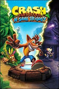 Crash Bandicoot N. Sane Trilogy (Xbox One) by Activision Box Art