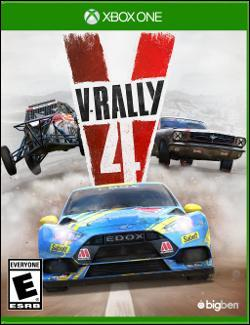 V-Rally 4 (Xbox One) by Microsoft Box Art