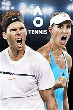 AO International Tennis Box art