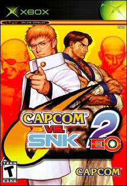Capcom vs. SNK 2: EO (Xbox) by Capcom Box Art
