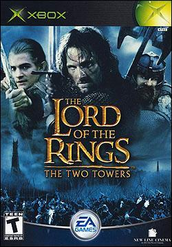 The Lord of the Rings: The Two Towers Box art