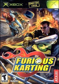 Furious Karting (Xbox) by Atari Box Art