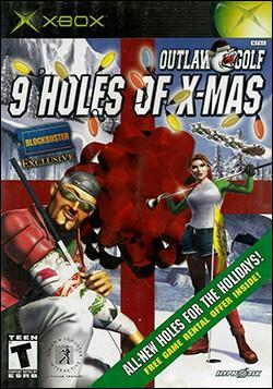 Outlaw Golf: 9 Holes of X-Mas Box art