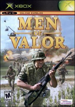 Men of Valor: The Vietnam War Box art