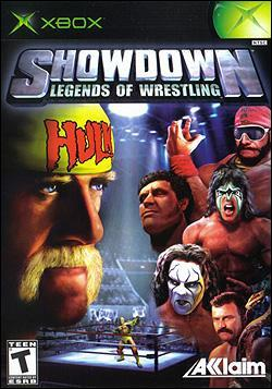 Showdown: Legends of Wrestling Box art
