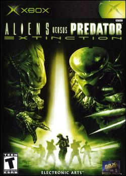 Aliens vs. Predator: Extinction (Xbox) by Electronic Arts Box Art