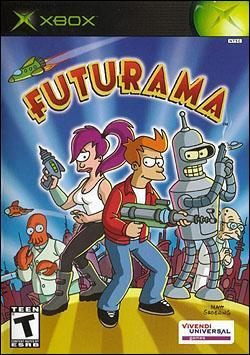 Futurama Box art