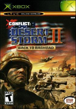Conflict: Desert Storm II : Back to Baghdad Box art