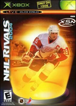 NHL Rivals 2004 Box art