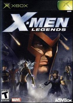 X-Men: Legends (Xbox) by Activision Box Art