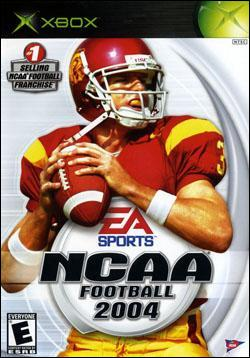 NCAA Football 2004 (Xbox) by Electronic Arts Box Art