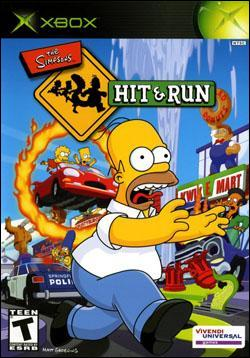 The Simpsons: Hit and Run Box art