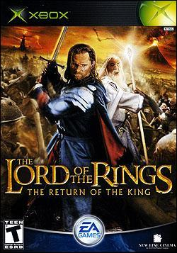 The Lord of the Rings: The Return of the King (Xbox) by Electronic Arts Box Art