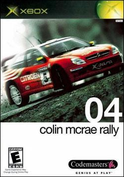 Colin Mcrae Rally 04 Box art
