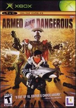 Armed and Dangerous (Xbox) by LucasArts Box Art