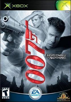 James Bond 007: Everything or Nothing Box art
