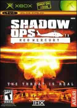 Shadow Ops: Red Mercury (Xbox) by Atari Box Art