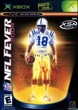 NFL Fever 2004 (Xbox) by Microsoft Box Art