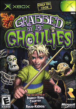 Grabbed by the Ghoulies (Xbox) by Microsoft Box Art