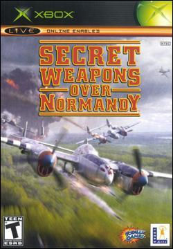 Secret Weapons Over Normandy Box art