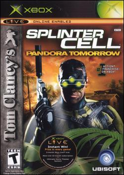 Tom Clancy's Splinter Cell: Pandora Tomorrow Box art