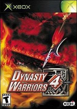 Dynasty Warriors 4 Box art