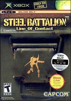 Steel Battalion: Line of Contact (Xbox) by Capcom Box Art