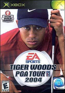 Tiger Woods PGA Tour 2004 (Xbox) by Electronic Arts Box Art