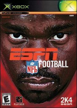 ESPN NFL Football 2K4 Box art
