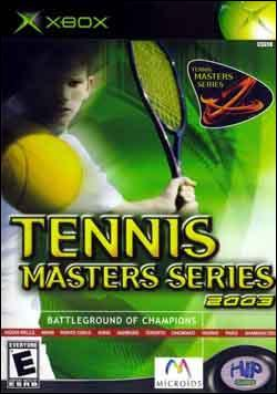 Tennis Masters Series 2003 Box art