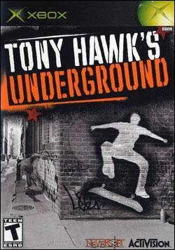 Tony Hawk's Underground Box art