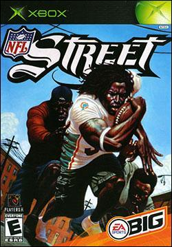 NFL Street (Xbox) by Electronic Arts Box Art