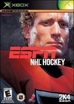 ESPN NHL Hockey 2K4 Box art