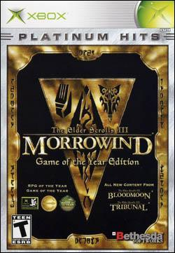 Elder Scrolls III: Morrowind GOTY Edition (Xbox) by Bethesda Softworks Box Art