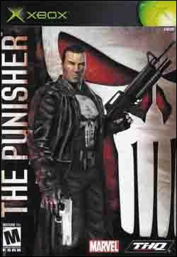 The Punisher (Xbox) by THQ Box Art