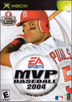 MVP Baseball 2004 Box art