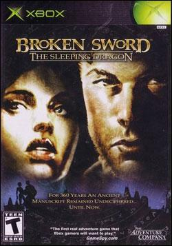 Broken Sword 3: The Sleeping Dragon Box art