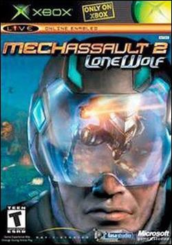 MechAssault 2: Lone Wolf Box art