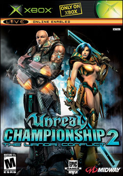 Unreal Championship 2:  The Liandri Conflict (Xbox) by Midway Home Entertainment Box Art
